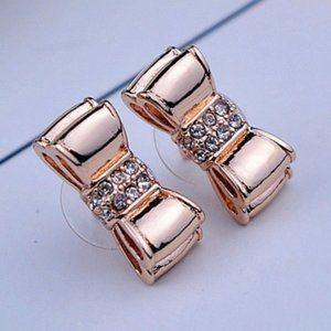 Kate Spade Zircon Bow Stud Earrings